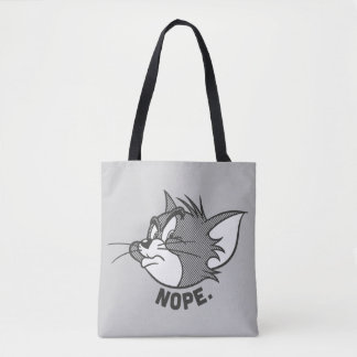 Tom And Jerry | Tom Says Nope Tote Bag