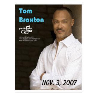 Tom Braxton Postcard