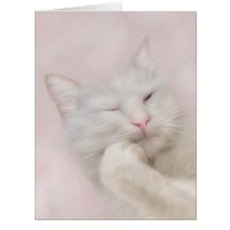 Tom Cat Large Greeting Card