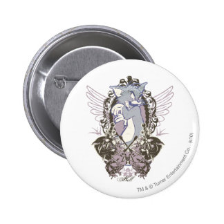 Tom Cat Outa Hell 6 Cm Round Badge