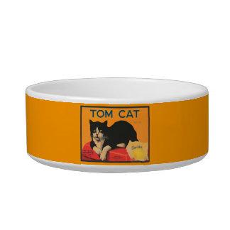 """""""Tom Cat"""" Cat Bowl"""