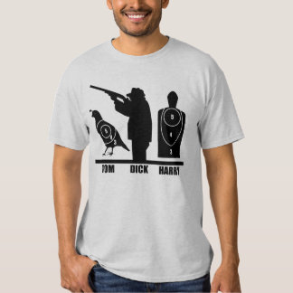 Tom, Dick and Harry T-shirts