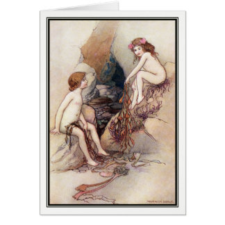 Tom Finds a Water Baby by Warwick Goble Card