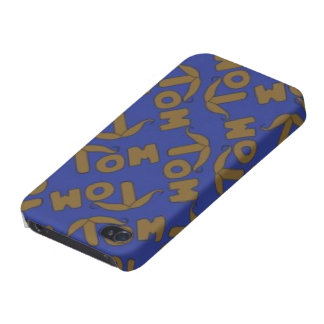 Tom Handlebar Moustache Covers For iPhone 4
