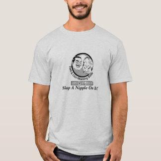 Tom & Lisa - Slap A Nipple On It! T-Shirt