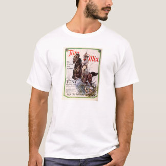 Tom Mix 1927 silent movie exhibitor ad T-Shirt