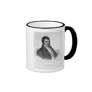 Tom Oliver, engraved by Percy Roberts Mugs
