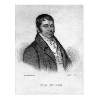 Tom Oliver, engraved by Percy Roberts Postcard