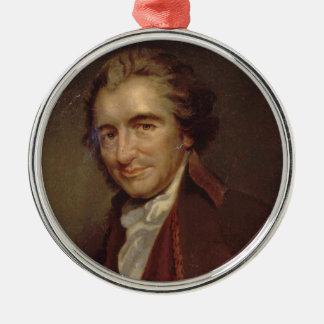 Tom Paine Metal Ornament