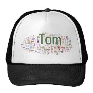 Tom Sawyer Word Cloud Hats