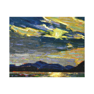 Tom Thomson - Hot Summer Moonlight Canvas Print