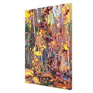 Tom Thomson - Maple Saplings Canvas Print