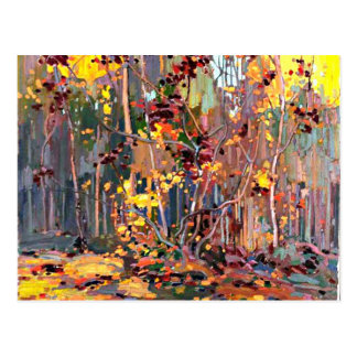 Tom Thomson - Maple Saplings Postcard