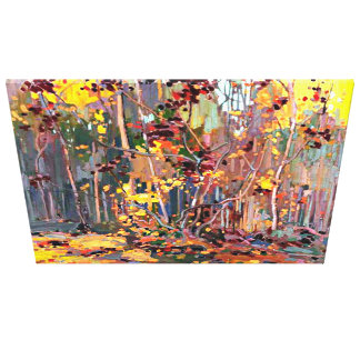 Tom Thomson painting,  Maple Saplings Canvas Print