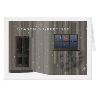 Tom Thomson Shack Christmas Card