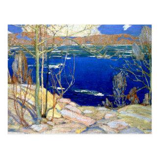 Tom Thomson - Spring Ice Postcard