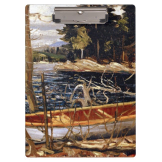 Tom Thomson - The Canoe - 1912 Clipboards