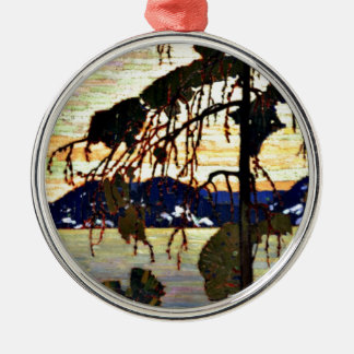 Tom Thomson - The Jack Pine-1917 artwork Metal Ornament