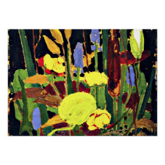 Tom Thomson - Water Flowers Poster