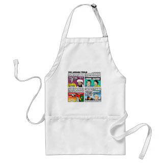 Tom Tomorrow 9/11Memorial Cartoon Gifts & Tees Adult Apron