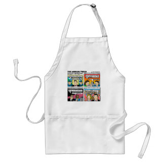 Tom Tomorrow 9/11Memorial Funny Gifts & Tee Part 2 Standard Apron