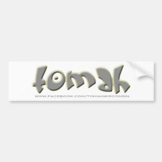 Tomah Bumper Sticker