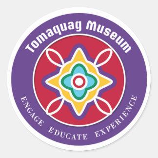 Tomaquag Museum Logo Sticker