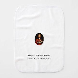 Tomaso Giovanni Albinoni Burp Cloth