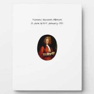 Tomaso Giovanni Albinoni Plaque