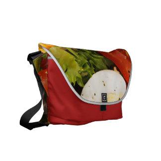 Tomato and Bacon Salad Messenger Bag