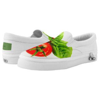Tomato and Basil slip on sneakers