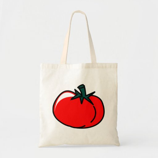 Tomato Canvas Bags