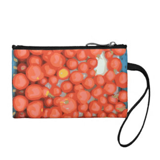 Tomato Batches Ripe and Juicy Coin Wallets