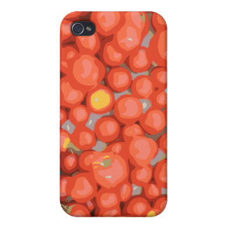 Tomato Batches Ripe and Juicy iPhone 4/4S Case