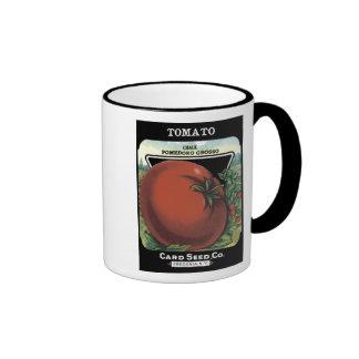 Tomato Card Seed Co Ringer Coffee Mug