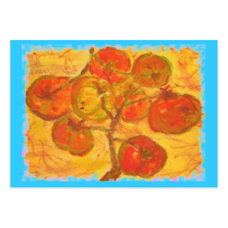 tomato cluster watercolour business cards