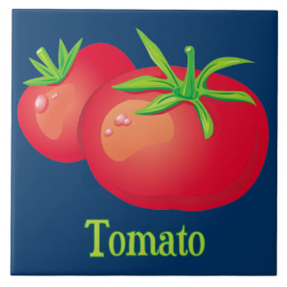Tomato Decorative Kitchen Tile
