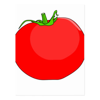 Tomato Drawing Postcard