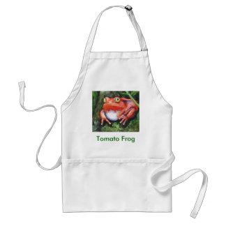 Tomato Frog Apron