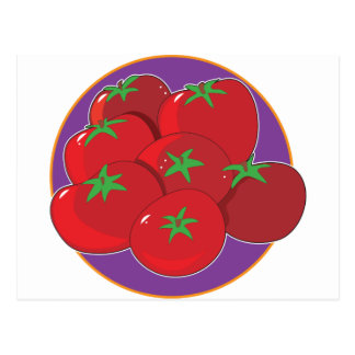 Tomato Graphic Postcard