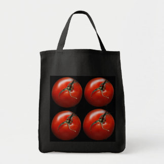 Tomato Grocery Tote Bag