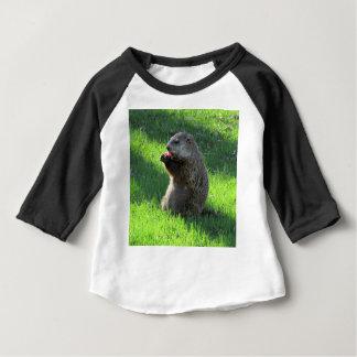 Tomato Groundhog Baby T-Shirt