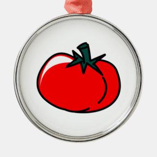 Tomato Metal Ornament
