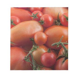 Tomato Mix Notepad