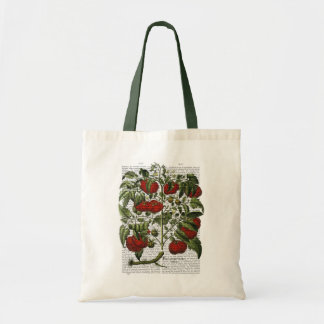 Tomato Plant Budget Tote Bag