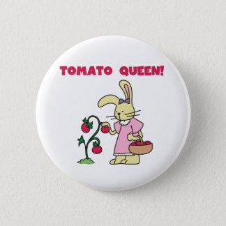 Tomato Queen 6 Cm Round Badge
