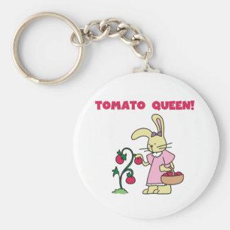 Tomato Queen Key Ring