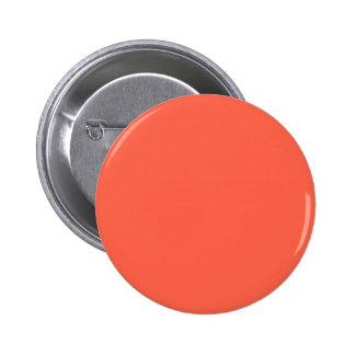 Tomato Red Pinback Button
