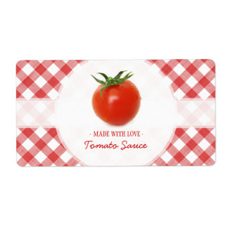 Tomato Sauce labels