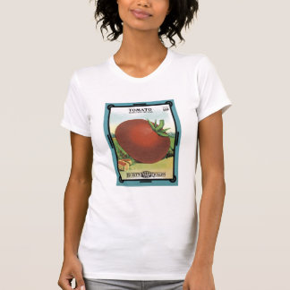 Tomato Seed Packet - Burt's Seeds T-Shirt